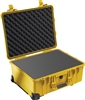 "PELICAN CASE WITH FOAM YELLOW (MFR# 1560-000-240) 1560YEL   (ID 20.37""L X 15.43""W X 9.00""D) *SPECIAL ORDER*"