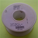 ALPHA 24AWG SOLID WHT HOOKUP WIRE 1561/24-100WHT