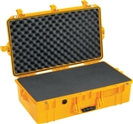 "PELICAN AIR CASE WITH FOAM (MFR# 016050-0000-240) 1605YEL   YELLOW (ID 26.00""L X 14.00""W X 8.38""D) *SPECIAL ORDER*"