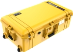 "PELICAN AIR CASE WITH FOAM (MFR# 016150-0000-240) 1615YEL   YELLOW (ID 29.59""L X 15.50""W X 9.38""D) *SPECIAL ORDER*"