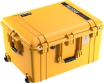 "PELICAN AIR CASE WITH FOAM (MFR# 016370-0000-240) 1637YEL   YELLOW (ID 23.43""L X 17.55""W X 13.25""D) *SPECIAL ORDER*"