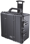 PELICAN CASE W/WHEELS & FOAM BLK 1640BLK