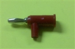 POMONA STACKING BANANA PLUG RED 1825-2