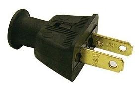 Eagle 2 Prong Male Plug Rubber 183b