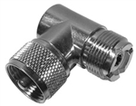 MODE UHF MALE-FEMALE RIGHT ANGLE ADAPTER 21-269-1