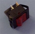 EATON DPST AMBER ROCKER SWITCH 16A/125V 2600A11E
