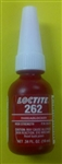 LOCTITE 262 PERMANENT THREADLOCKER RED 10ML 26221