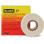 "3M FIBREGLASS CLOTH INSULATING TAPE 1/2""X66' 27TAPE1/2"