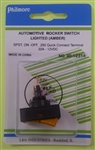 PHILMORE RH ROCKER SWITCH AMB 30-12314                      ** NOT RATED/TESTED ON 120V/220V **  12VDC/30A
