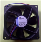 EBM-PAPST 3412N 12VDC BALL BEARING FAN 92MM X 92MM X 25MM   49.4CFM 32DB 2.2W 0.18A 2700RPM 2 WIRE