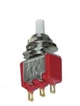GC MINI MOMENTARY PUSHBUTTON SPDT SWITCH ON-(ON) 35-450