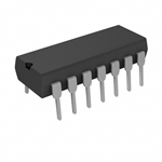 ON SEMI IC QUAD 2-IN NOR GATE 14-DIP 4001*