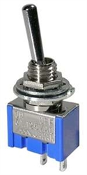 MODE MINI TOGGLE SWITCH SPST ON-OFF 41-230-0