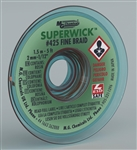 "MG SUPER WICK #3 GRN .075"" (5FT) 425"