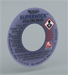 "MG SUPER WICK #4 BLU .100"" (5FT) 426"