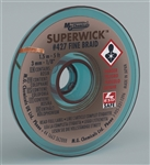 "MG SUPER WICK #5 BRN .125"" (5FT) 427"