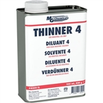 MG 4354-1L THINNER 4 SOLVENT, GOOD CHOICE FOR SPRAY APPLICATIONS *SOLD TO INDUSTRIAL CUSTOMERS ONLY* *SPECIAL ORDER*
