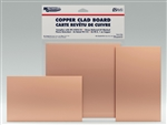 "MG PC BOARD SINGLE SIDED COPPER CLAD (12X12"") 521"