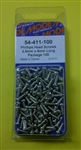MODE PHILIPS SCREW (2.6X8MM) (100 PK) 54-411-100