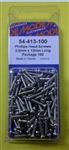 MODE PHILIPS SCREW (2.6X12MM) (100 PK) 54-413-100