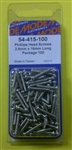 MODE PHILIPS SCREW (2.6X16MM) (100 PK) 54-415-100