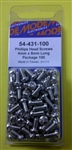 MODE PHILIPS SCREW (4X8MM) 100PK 54-431-100