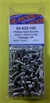 MODE PHILIPS SCREW (4X10MM) 100PK 54-432-100
