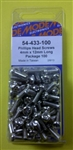 MODE PHILIPS SCREW (4X12MM) 100PK 54-433-100