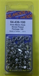 MODE NICKEL PLATED NUTS (4MM) 54-436-100