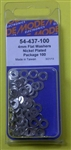 MODE NICKEL PLATED WASHERS (4MM) 54-437-100