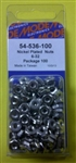 MODE NICKEL PLATED NUTS (6-32) 54-536-100