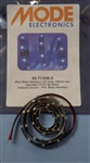 MODE OUTDOOR LED STRIP (0.5M) BLUE 55-7130B-0