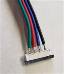 MODE 10MM SOLDERLESS RGB CONNECTOR WITH LEADS 55-750-0
