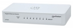 MANHATTAN 8-PORT GIGABIT ETHERNET PLASTIC SWITCH 560702     DESKTOP SIZE IEEE 802.3AZ (ENERGY EFFICIENT ETHERNET)