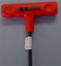"ALLEN 7/32"" T-HANDLE HEX KEY 9""LONG 58262                   *CLEARANCE*"