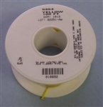 ALPHA 24AWG TEFLON YELLOW HOOKUP WIRE (100 FEET) 5854-100YEL (-60C - 200C)