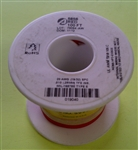 ALPHA 20AWG TEFLON RED HOOKUP WIRE (100 FEET) 5856-100RED   (-60C - 200C)