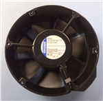EBM-PAPST 6224N 24VDC BALL BEARING FAN 172MM X 51MM 241CFM  55DB 18W 0.75A 3400RPM FLAT PLUGS 3.0MM X 0.5MM