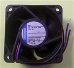 EBM-PAPST 622L 12VDC BALL BEARING FAN 60MM X 60MM X 25MM    12.4CFM 22DB 0.53W 0.04A 3200RPM 2 WIRE