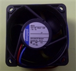 EBM-PAPST 622N 12VDC BALL BEARING FAN 60MM X 60MM X 25MM    23.5CFM 36DB 1.9W 0.16A 6100RPM 2 WIRE