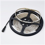 NTE 16.4FT (5M) 12V 24W WARM WHITE LED STRIP 69-V46WW-WR    PRE-WIRED 2.1MM PLUG END, WATER RESISTANT (CENTER +)