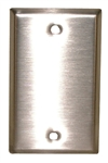 PHILMORE STAINLESS STEEL SINGLE GANG PLATE 70-7410B