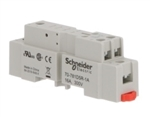 SCHNEIDER RELAY BASE SPDT 5PIN DIN/PANEL MOUNT 70-781D5R-1A 16A/300V