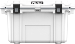 "PELICAN 70Q-1-WHTGRY ELITE COOLER (ID: 23.50""L X 11.00""W X  14.30""D) VOLUME 70QT WHITE GRAY *SPECIAL ORDER*"