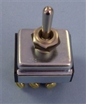 EATON 3PDT TOGGLE SWITCH ON-OFF-ON SCREW 7701K2