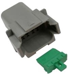 PICO 8 WAY FEMALE DEUTSCH HOUSING & WEDGELOCK 1/PK 7998-11