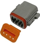 PICO 8 WAY MALE DEUTSCH HOUSING & WEDGELOCK 1/PK 7999-11