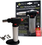 PICO 4 IN 1 REFILLABLE BUTANE TORCH 8257-31