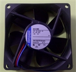 EBM-PAPST 8412NME 12VDC BALL BEARING FAN 80MM X 80MM X 25MM 34.1CFM 27DB 1.0W 0.08A 2600RPM 2 WIRE