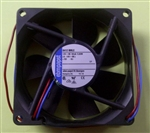 EBM-PAPST 8412NMLE 12VDC BALL BEARING FAN 80MM X 80MM X 25MM 26.5CFM 21DB 0.62W 0.05A 2050RPM 2 WIRE